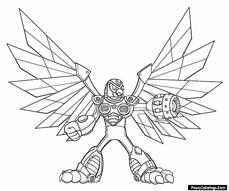 eagle armour coloring pages